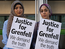 Grenfell Tower - How we can help; photo: © Ron Fassbender